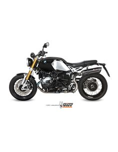 Escape Mivv B.022.L9 BMW R Nine T del 2014-2018 Suono Inox Black Alto