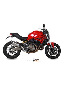 Escape Mivv D.030.L7 Ducati Monster 821 del 2015  2016 Suono