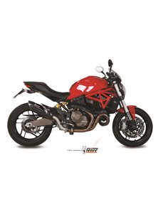 Escape Mivv D.030.L9 Ducati Monster 821 del 2015  2016 Suono