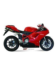 Escape Mivv UD.021.L7 Ducati 1098 del 2007-2011 Suono Inox