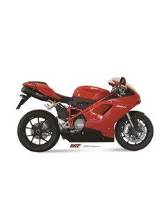 Escape Mivv UD.021.L9 Ducati 1098 del 2007-2011 Suono Inox Black
