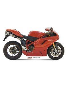 Escape Mivv UD.021.L7 Ducati 1198 del 2009-2012 Suono Inox
