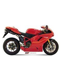 Escape Mivv UD.021.L9 Ducati 1198 del 2009-2012 Suono Inox Black