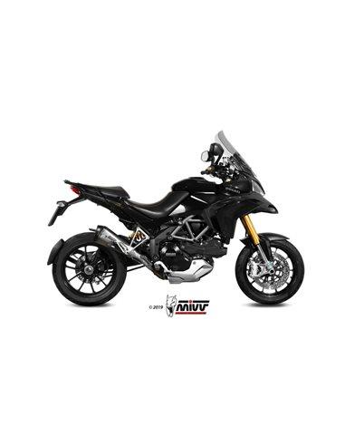 Escape Ducati Multistrada 1200 2010-2014 Mivv Delta Race Acero inox D.027.LDRX