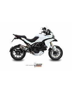 Escape Ducati Multistrada 1200 2010-2014 Mivv Suono Inox D.027.L7