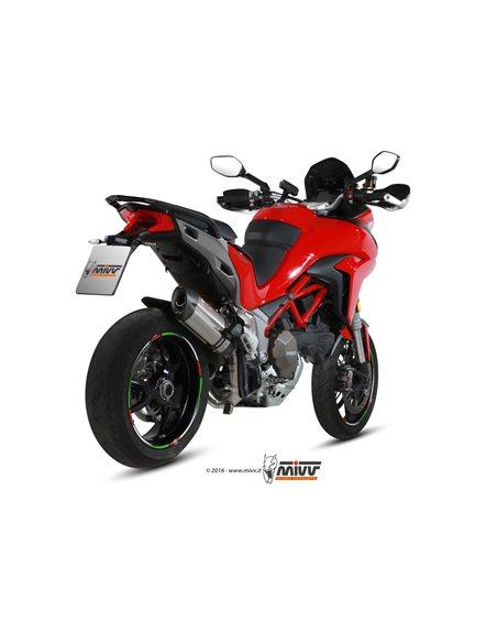 Escape Mivv D.033.L7 Ducati Multristada 1200 del 2015  Suono