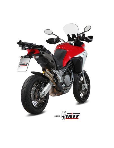 Escape Mivv D.037.LDG Ducati Multistrada 1200 Enduro del 2016 Double Gun