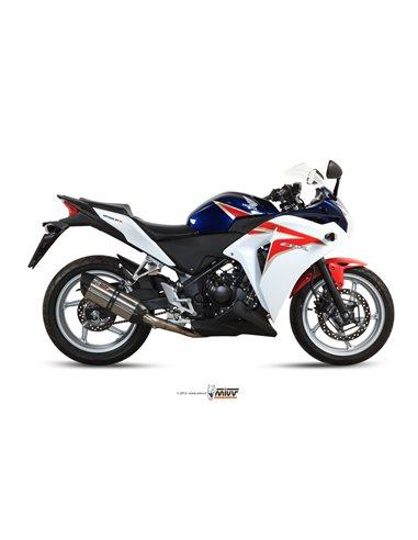 Escape Mivv H.047.L7 Honda CBR 250 R del 2011-2014 Suono Inox