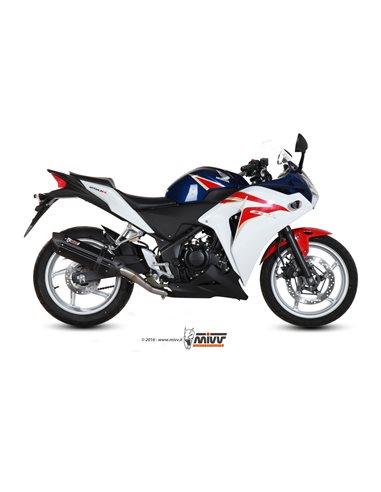Escape Mivv H.047.L9 Honda CBR 250 R del 2011-2014 Suono Inox Black