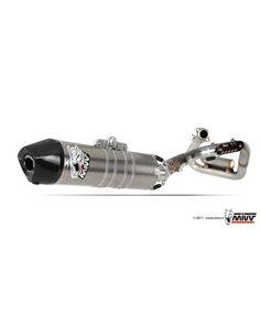 Escape completo Honda CRE F 450 R 2011-2012 Mivv M.HO.032.LXC.F Oval Inox