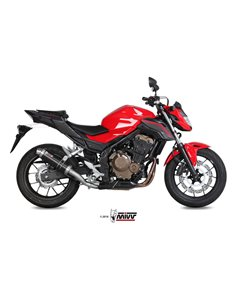 Escape Honda CB500F 2016-2018 Mivv GP Inox Black H.062.LXB
