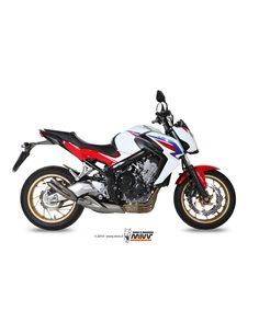 Escape Mivv H.054.LDG Honda CB 650 F del 2014-2016 CBR 650 F 2014-2016 Double Gun