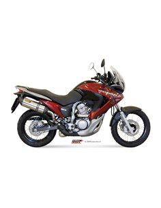 Escape Mivv H.040.L7 Honda XLV Transalp 700 del 2008-2013 Suono Inox