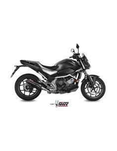 Escape Mivv H.065.L9 Honda NC 750 S/X del 2016-2018 Suono Inox Black