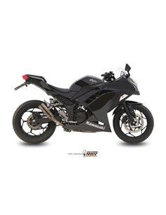 Escape Mivv K.038.SDG Kawasaki Ninja 300 del 2013-2016 Z300 2015-2016 Double Gun