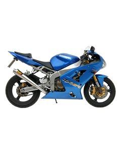 Escape Mivv K.009.LC3 Kawasaki ZX 6 R 636 2003-2004 ZX 6 RR 2003-2004 X-cone Inox