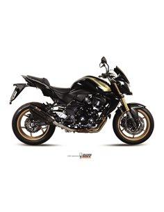 Escape Mivv K.028.L9 Kawasaki Z 750 R del 2011-2014 Suono Inox Black