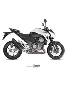 Escape Kawasaki Z800 E 2013-2016 Mivv Suono Inox Black K.035.L9