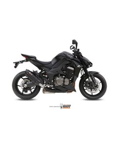 Escape Kawasaki Z1000 2014-2019 Mivv Suono Inox Black K.039.L9