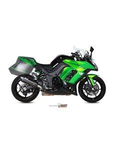 Escape Mivv K.043.L9 Kawasaki Z 1000 SX del 2014-2018 Suono Inox Black