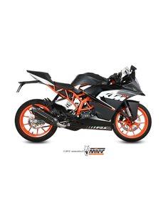 Escape Mivv KT.016.L9 KTM RC 125 del 2014  2016 Suono