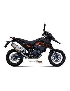 Escape Mivv X.KT.0001.S7 KTM 690 SM del 2007-2012 Suono Inox
