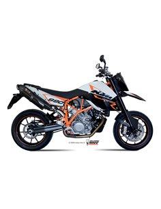 Escape Mivv KT.005.L9 KTM LC8 950 Supermoto R del 2005  2006 Suono