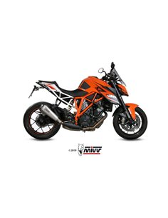 Escape KTM 1290 Superduke 2014-2019 Mivv Delta Race Acero Inox KT.014.LDRX
