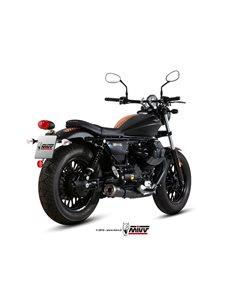 Escape Mivv M.011.SGB Moto Guzzi V9 Bobber/Roamer del 2016 Ghibli