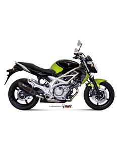 Escape Mivv S.035.L9 Suzuki Gladius del 2009-2015 Suono Inox Black