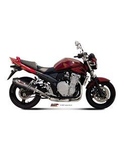 Escape Suzuki GSX650F 2008-2015 GSF650 Bandit 2007-2015 Mivv Oval Carbono S.030.LEC