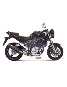 Escape Mivv S.015.L9 Suzuki SV 650 del 2004-2015 Suono Inox Black