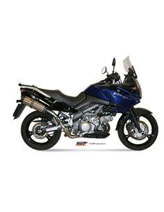 Escape Mivv S.033.L7 Suzuki DL V STROM 1000 del 2002-2013 Suono Inox