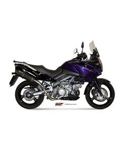 Escape Mivv S.033.L9 Suzuki DL V-STROM 1000 del 2002-2013 Suono Inox Black