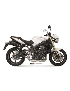 Escape Mivv AT.009.L9 Triumph 675 Street Triple del 2007  2012 Suono