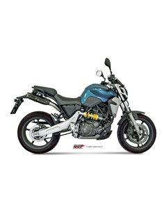 Escape Mivv UY.015.L9 Yamaha FZ6 FZ6 Fazer del 2004-2011 Suono Inox Black