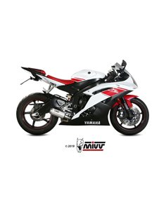 Escape Yamaha YZF 600 R6 2006-2016 Mivv MK3 Acero Inox Y.021.LM3X