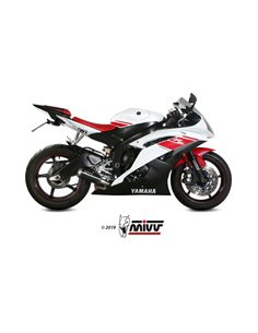 Escape Yamaha YZF 600 R6 2006-2016 Mivv MK3 Acero Inox Negro Y.021.LM3B
