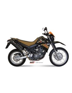 Escape Mivv Y.017.L9 Yamaha XT 660 X/R del 2004-2016 Suono Inox Black