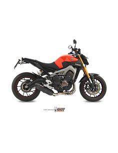 Escape Completo Yamaha MT-09 2013-2019 Mivv Y.042.L9 Suono Inox Black