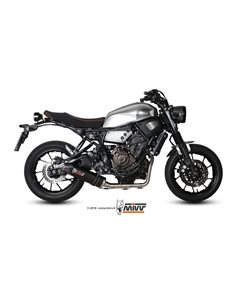 Escape Yamaha XSR 700 2016-2018 Mivv Y.053.L3C Oval Carbono