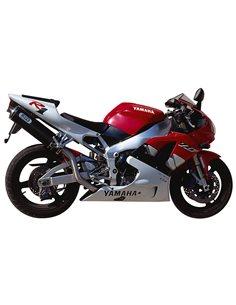 Escape Yamaha YZF 1000 R1 1998-2001 Mivv AY.001.L3 Oval Carbono Alto