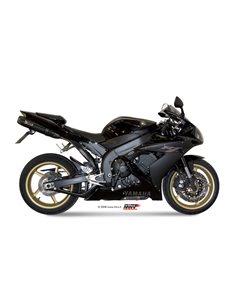 Escape Yamaha YZF 1000 R1 2004-2006 Mivv UY.016.L9 Suono Inox Black