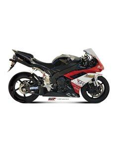 Escape Yamaha YZF 1000 R1 del 2007-2008 Mivv UY.027.L9 Suono Inox Black