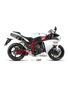 Escape Yamaha YZF 1000 R1 del 2009-2014 Mivv UY.031.L7 Suono Inox