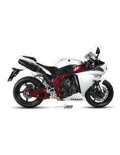 Escape Yamaha YZF 1000 R1 del 2009-2014 Mivv UY.031.L9 Suono Inox Black