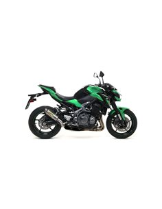 Escape kawasaki Z 900 2017-2019 Arrow GP2 Titanio 71531GP