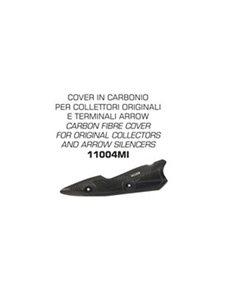 Protector carbono escape Kawasaki Z 900 2017-2020 Arrow 11004MI