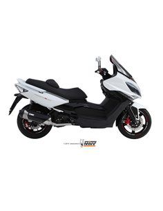 Escape completo Kymco Xciting 400 2013-2016 Mivv Urban C.KY.0012.K Catalizado