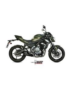 Escape completo Kawasaki Z650 Ninja 650 2017-2019 Mivv Delta Race Aero inox Black K.044.LDRB